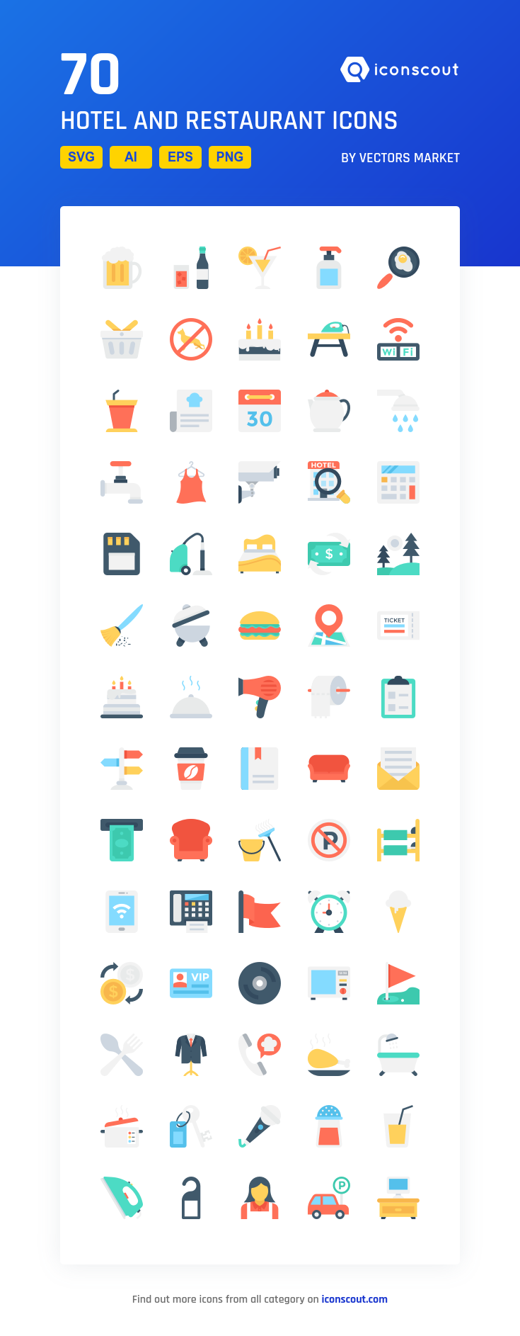 Download Hotel And Restaurant Icon Pack Available In Svg Png Eps Ai Icon Fonts Restaurant Icon Icon Pack Icon Font