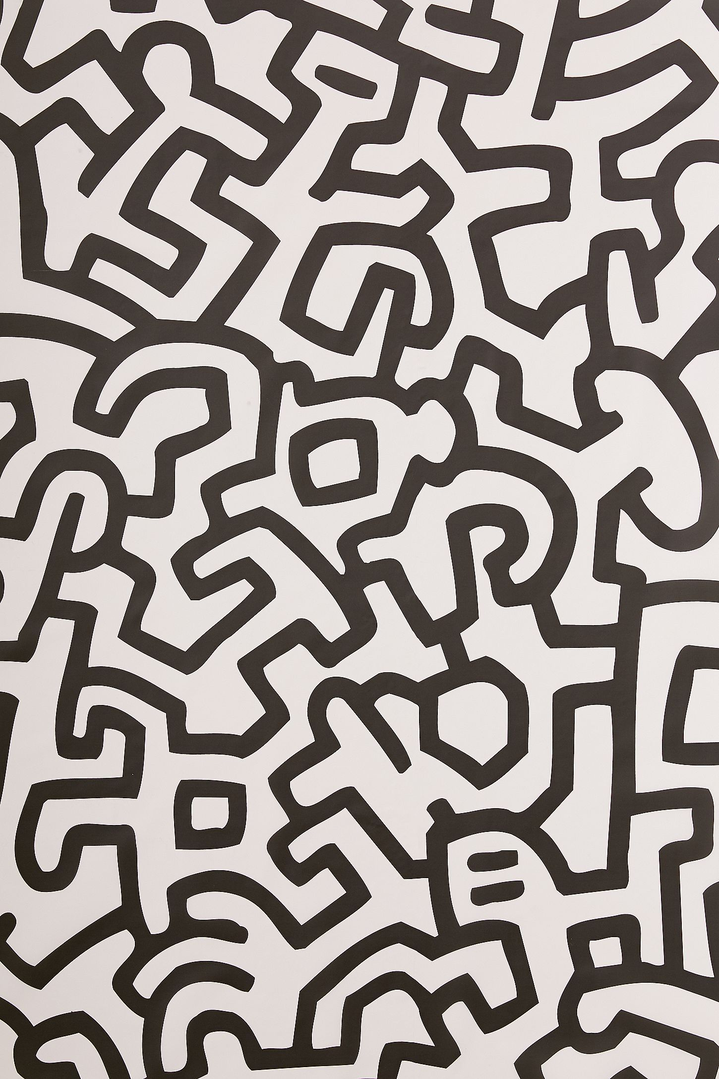 Keith Haring Removable Wallpaper Tile