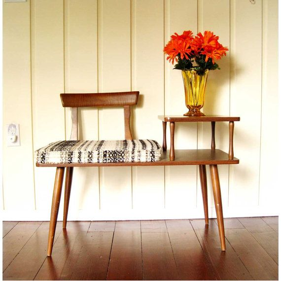 Mid century telephone table.