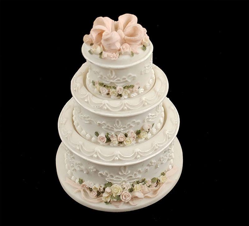 Dezine wedding cake stacking trinket box trio wedding