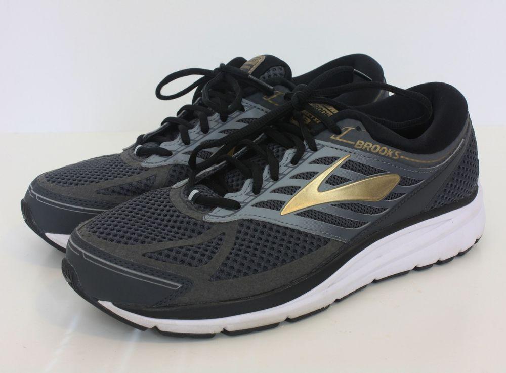 11e9da76848 Brooks Addiction 13 Mens Running Shoes Black Metallic Gold Size 9.5 EE   fashion  clothing  shoes  accessories  mensshoes  athleticshoes (ebay link)
