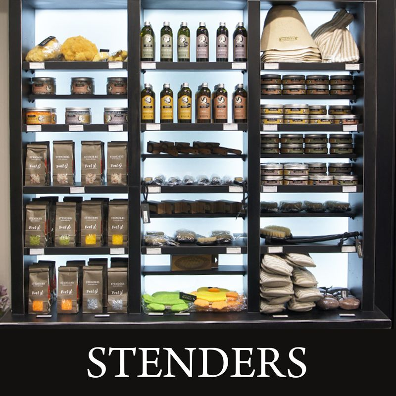 A shop that cares for you... Visit us today and browse through our wide selection of bath and body care! Feel the northern treasures at STENDERS!