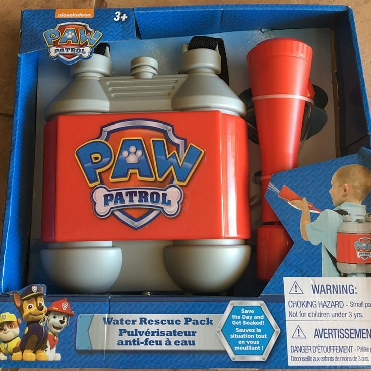bdae6da771 The Paw Patrol Marshall Pup Pack Toy - IT REALLY SHOOTS WATER! - Best Gifts  Top Toys