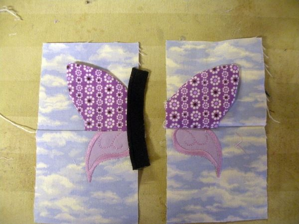 3D BUTTERFLY | Fabric Manipulation and Origami | Butterfly quilt