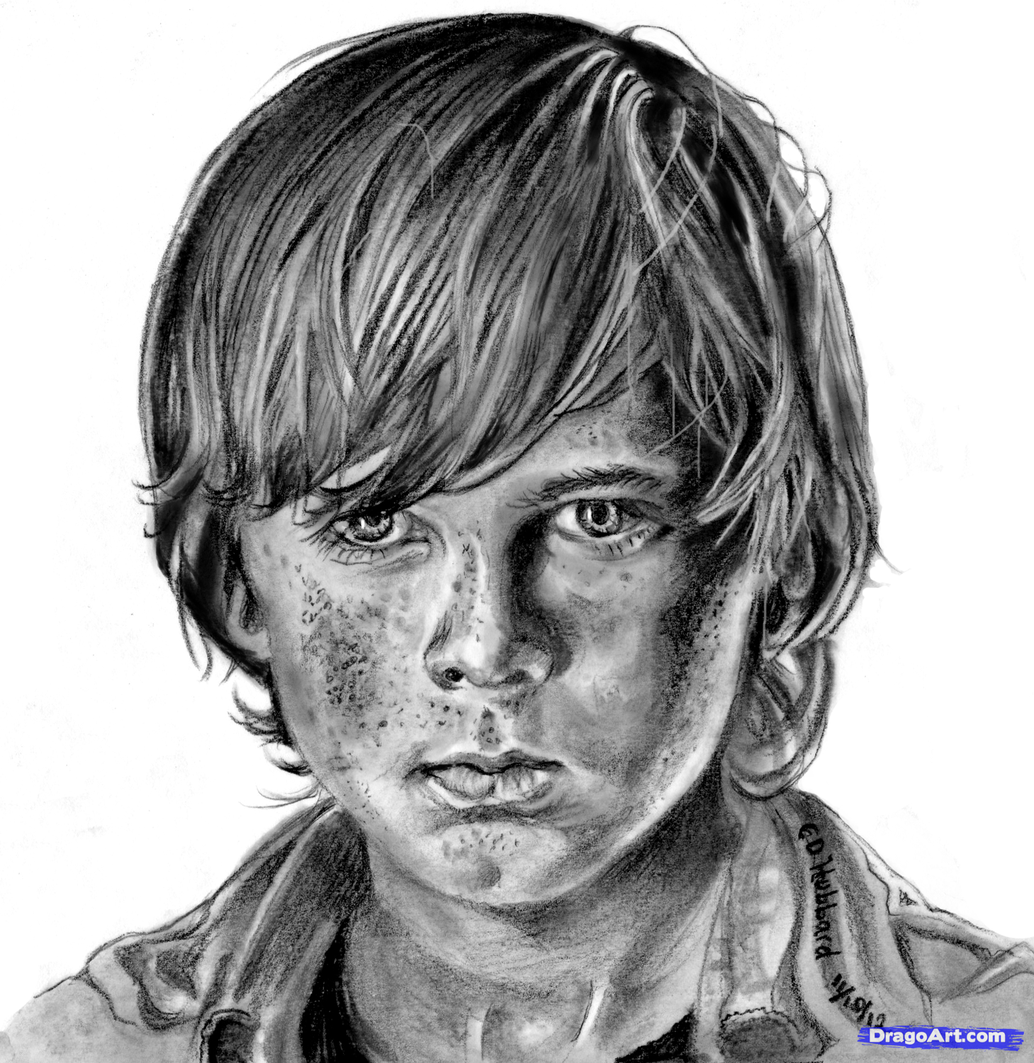 How To Draw Carl, Carl From The