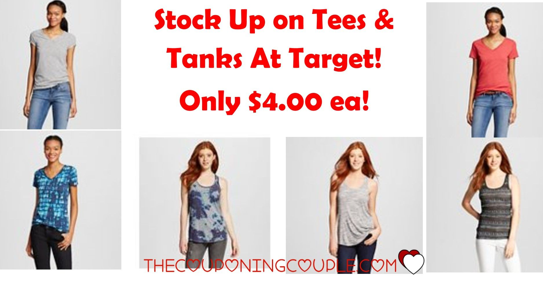 8e714b1741c59b Get Mossimo Supply Co Tees   Tanks for as little as  4.00 each