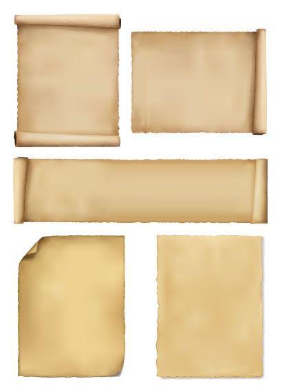 巻き物古紙 ベクターイラスト素材 ホームアイデア 巻物 イラスト