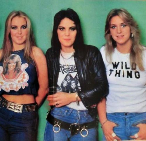 Lita Ford  Joan Jett And Sandy West Of Runaways Fame