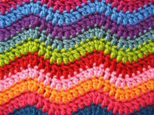 Mini Ripple Doll Blanket Ta Dah Baby Blanket Crochet