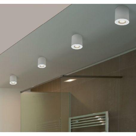 Foco De Superficie Kup Gu10 Redondo Blanco Bpm Iluminacion Interior Iluminacion Techo Diseno De Iluminacion
