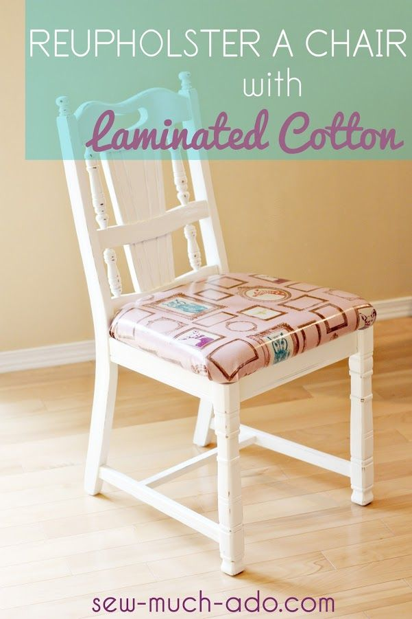 How to reupholster chairs with laminated cotton living - How to reupholster a living room chair ...