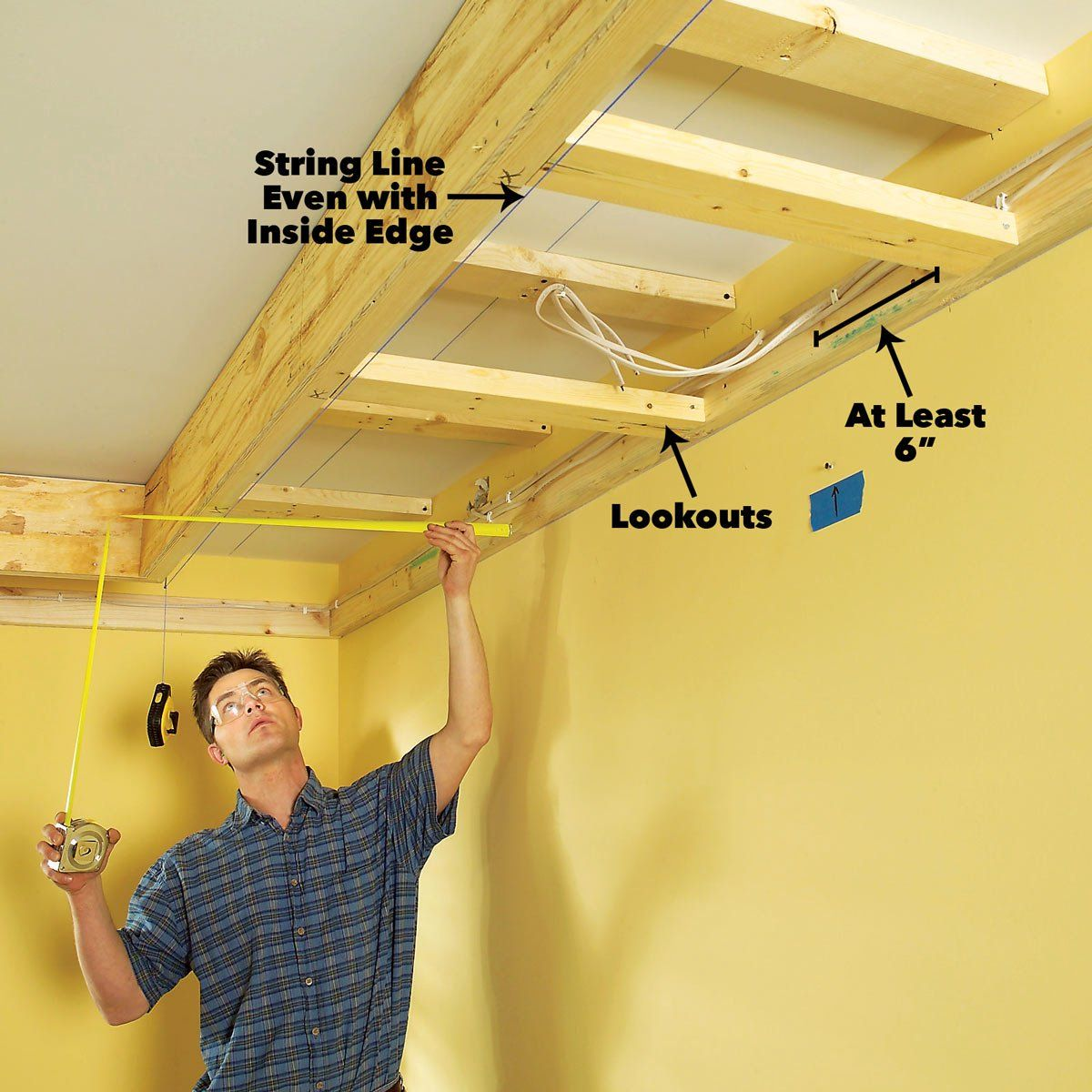 How To Build A Soffit Box With Recessed Lighting Recessed Lighting Installing Recessed Lighting Kitchen Soffit