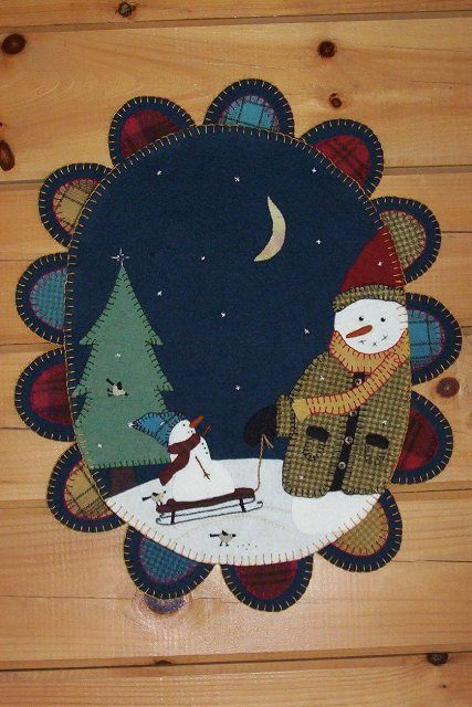 Winterberry Cabin Hand Dyed Felted Rug Hooking Wool Lique Penny Patterns Kits Could Be Modified For Punch Needle