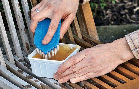 Teakholz pflegen Reinigungsmittel, Holzmöbel und Reinigen - holz gartenmobel pflegen