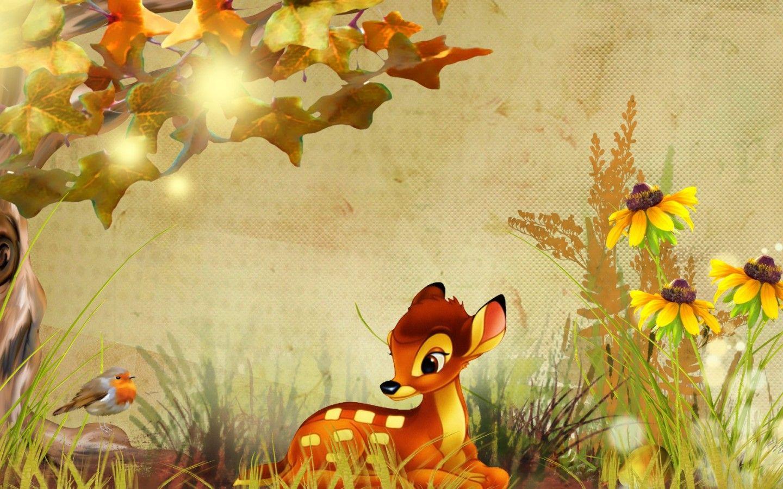 Fall Bambi Lights Disney Fawn Grass Leaves Tree D 1920x1080 Disney Wallpaper Desktop Wallpaper Fall Fall Wallpaper