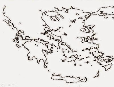 Pan Metron Ariston Greece Map Ancient Greece Map Coloring Pages