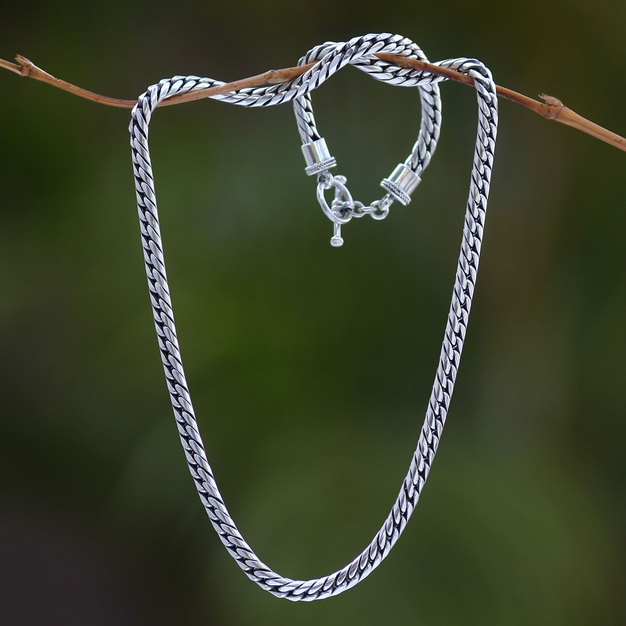 to chain sterling silver and heavy inch rope diameter inches diamond cut solid super jewellery