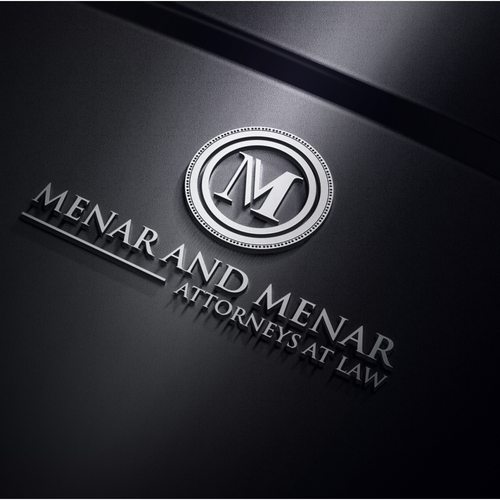 Menar And Menar Menar And Menar Law Menar And Menar Are Looking For A Logo And Typography That Can Reflect Law Logos Design Attorney Logo Design Logo Design
