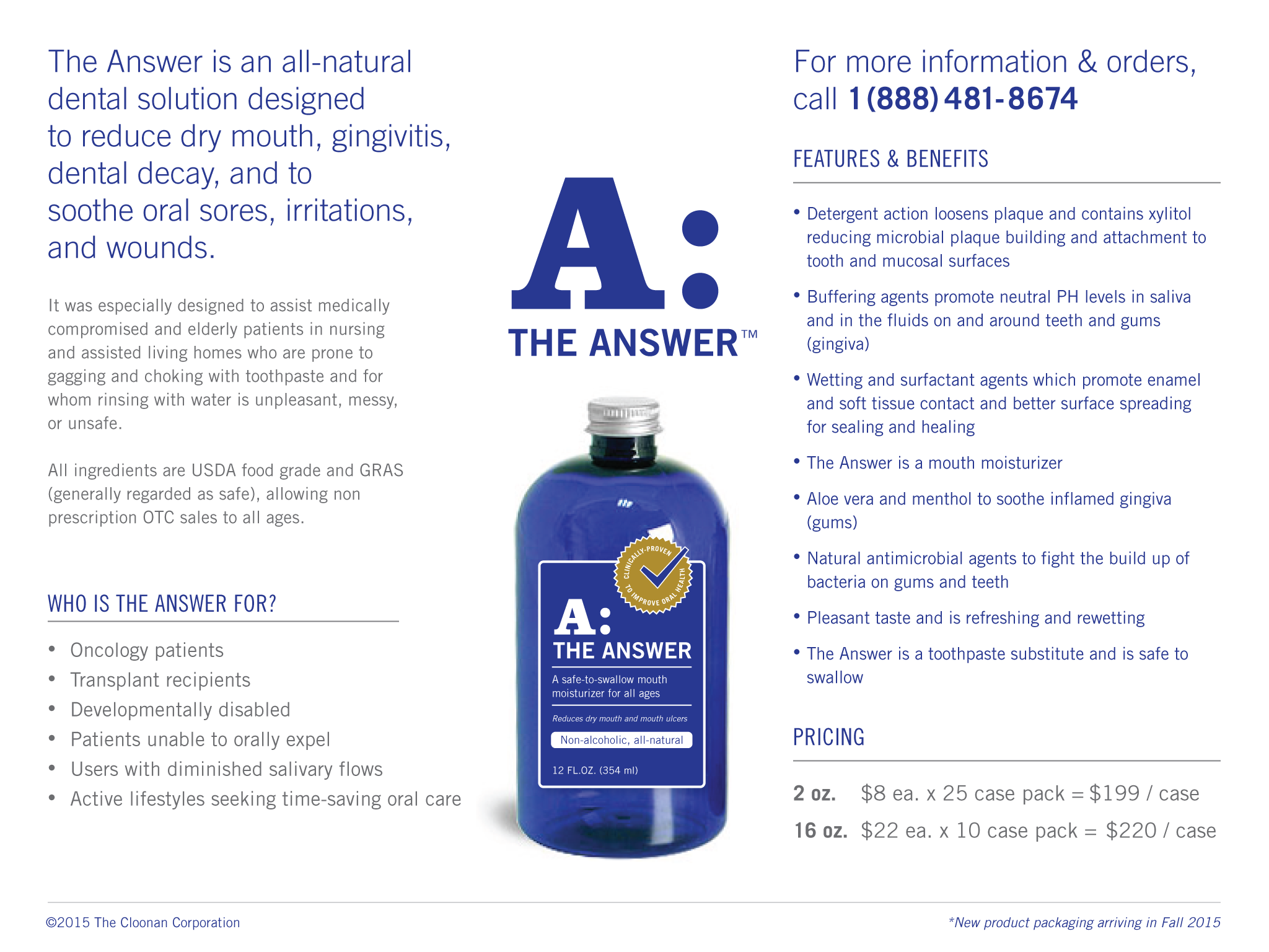Order   The Answer Oral Care