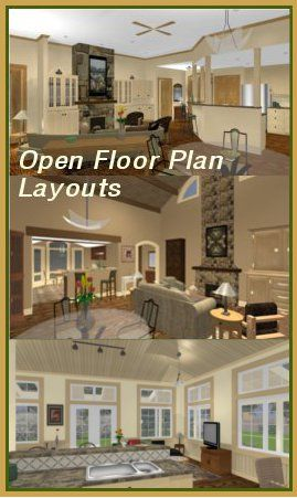 17 Best 1000 images about Open Floor Plans on Pinterest House plans