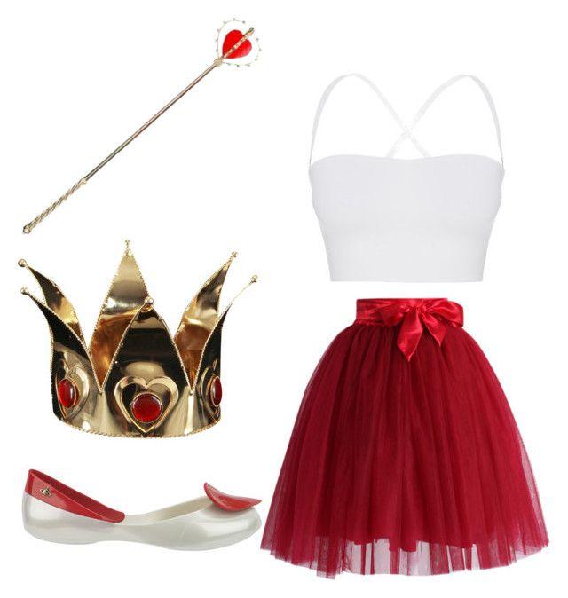 Simple Queen Of Hearts Costume In 2019 Disney Fancy Dress