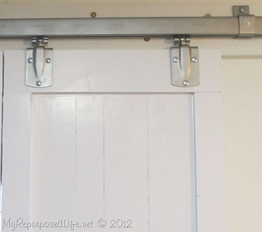 Tractor Supply Box Rail And Barn Door Hangers   Budget Friendly Industrial  Vibe