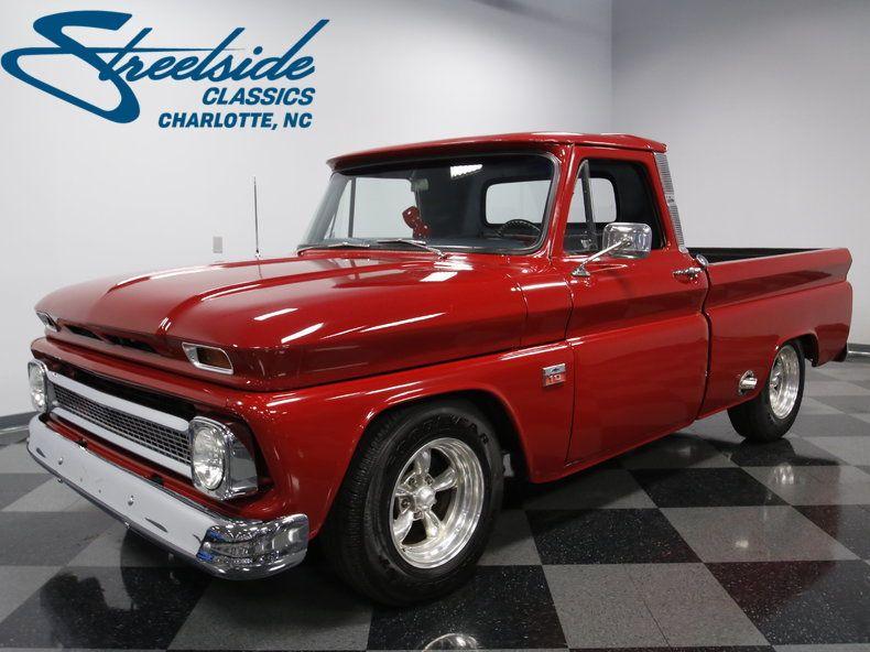 1966 Chevrolet C10 Chevy Pickup Trucks Vintage Pickup Trucks