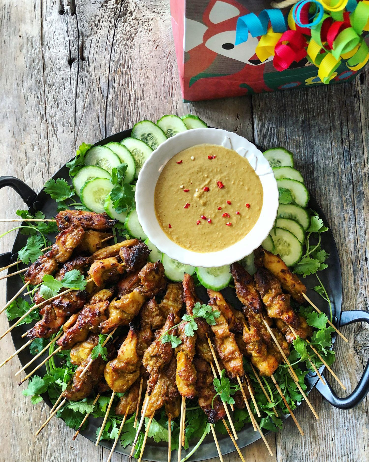 Chicken And Pineapple Satay With Peanut Sauce Recipe Satay
