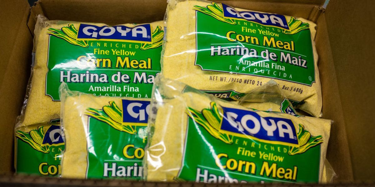 Conservatives rally to 'buy Goya' after CEO's proTrump