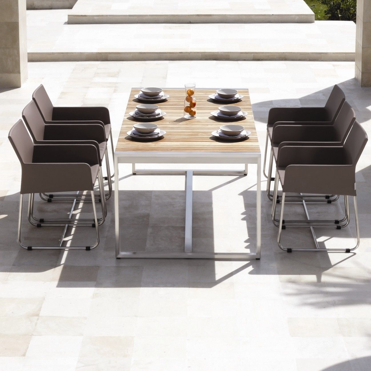 Mamagreen Zudu 7 Piece Dining Table Set