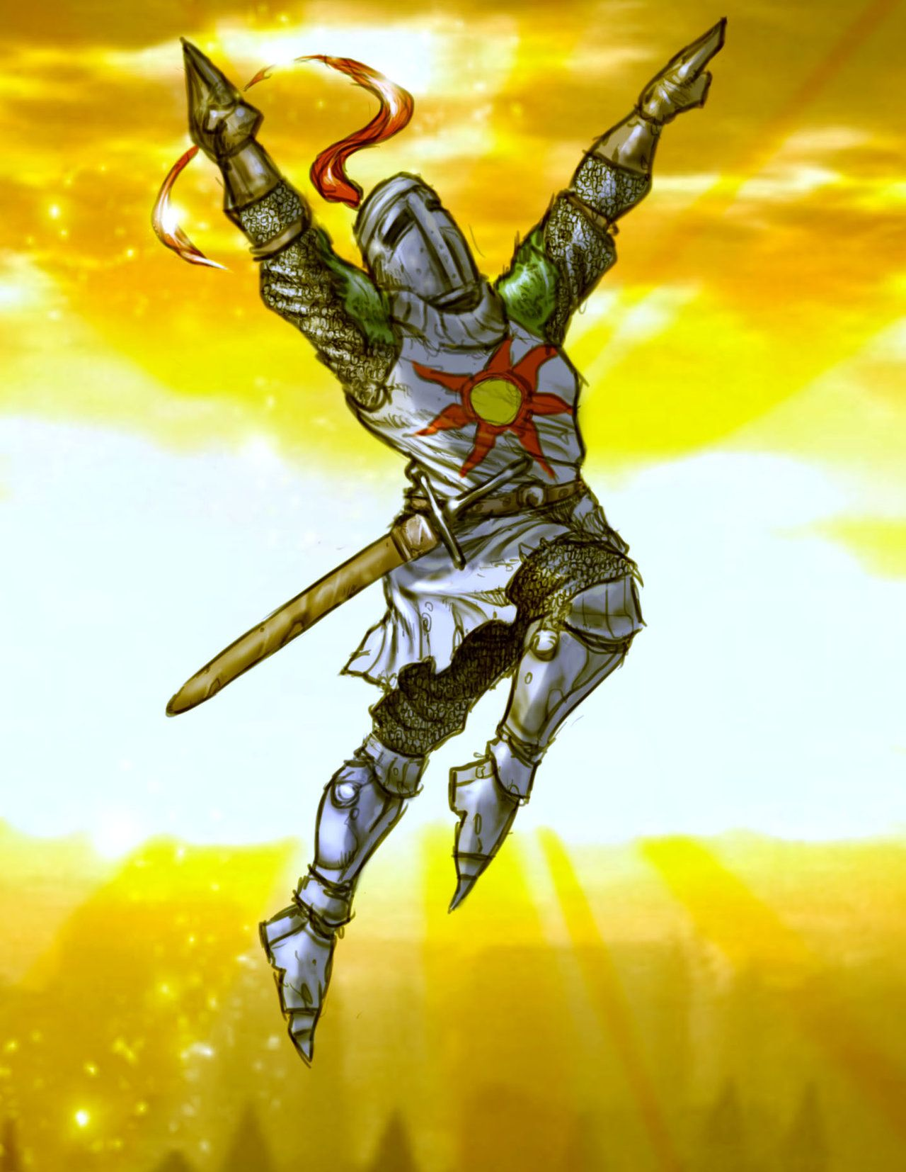 Dark Souls Solaire Of Astora With Images Dark Souls Solaire