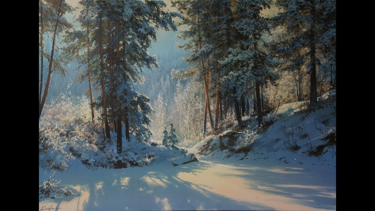 winter day we write with acrylic artist composer. Black Bedroom Furniture Sets. Home Design Ideas