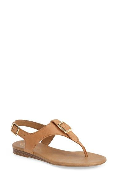aa3532536 Franco Sarto  Gita  Thong Sandal (Women) available at  Nordstrom Finally -  a great neutral flat sandal with a comfortable sole and a back strap!