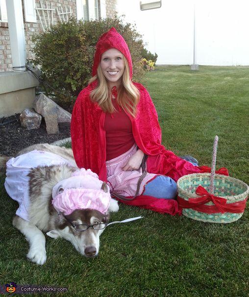 Little Red Riding Hood & Big Bad Wolf costume idea