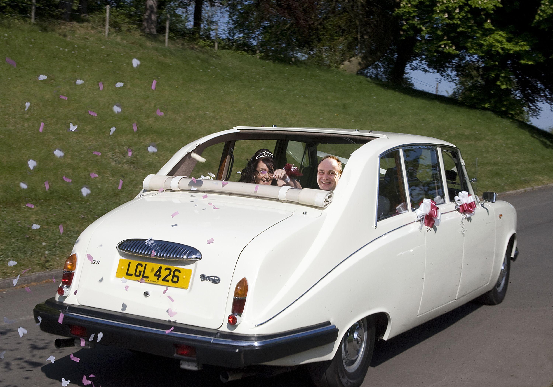 Daimler Ds420 Landaulette Unique Confetti Car Will Add That