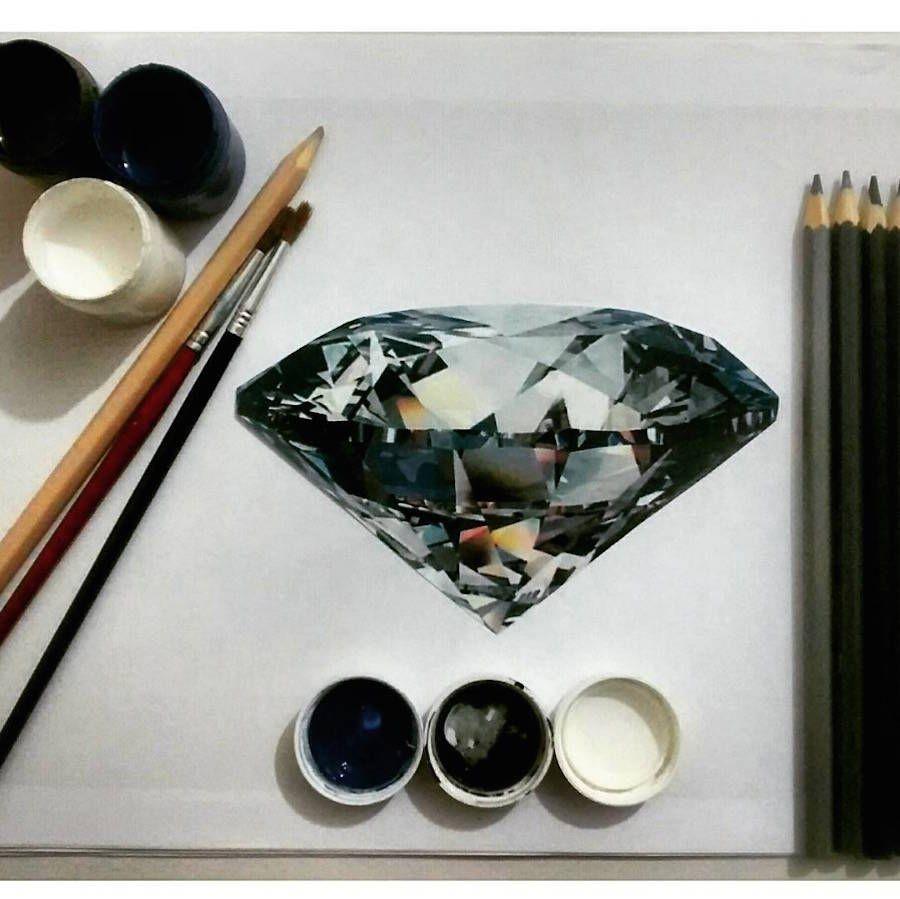 Hyper Realistic Jewellery Drawings Jewelry Drawing Jewellery