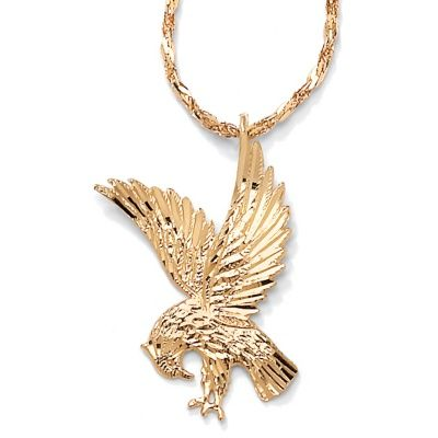 14k gold eagle pendant necklace women pendants pinterest 14k gold eagle pendant necklace aloadofball Images