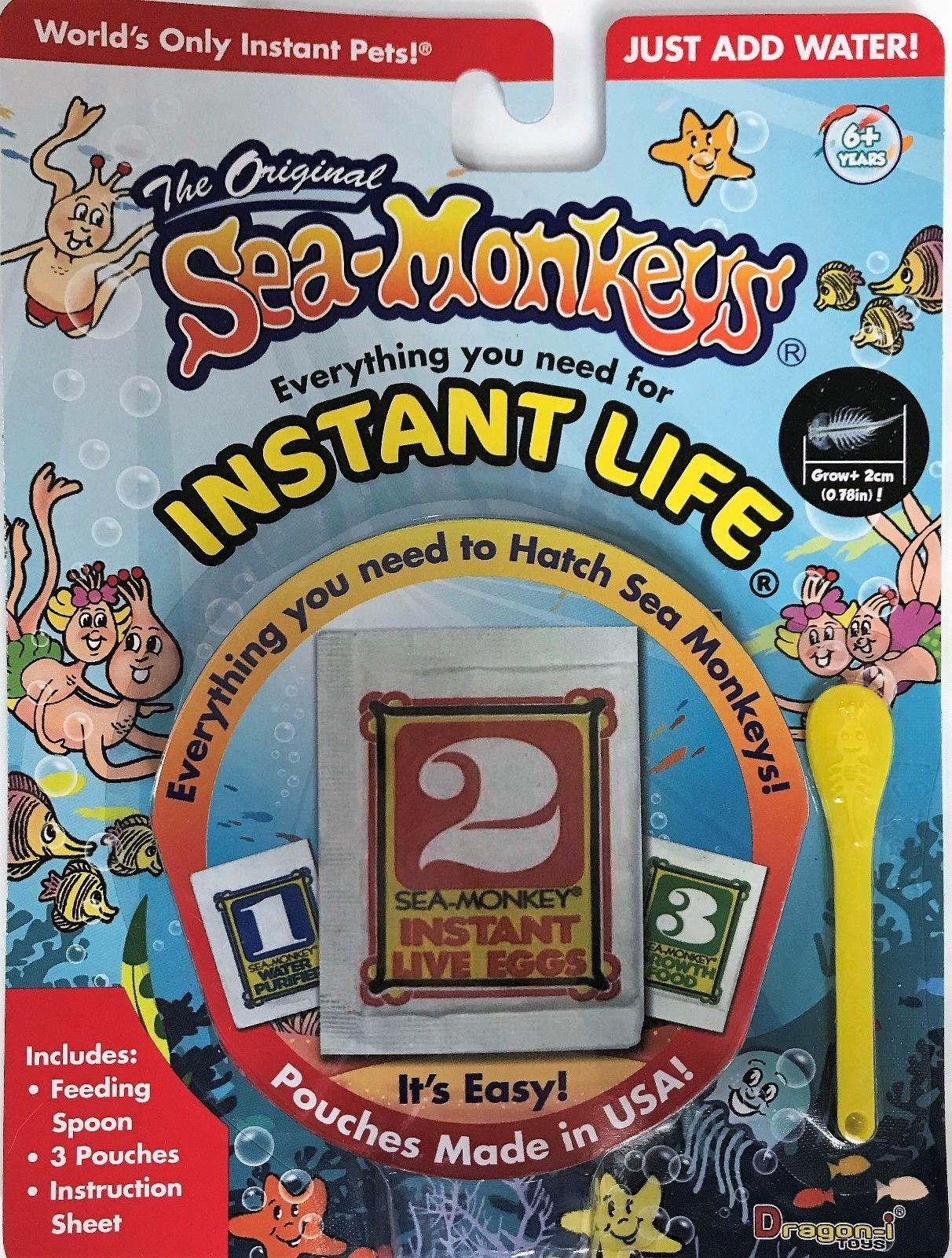 Details about Amazing Live Sea Monkeys Original Instant