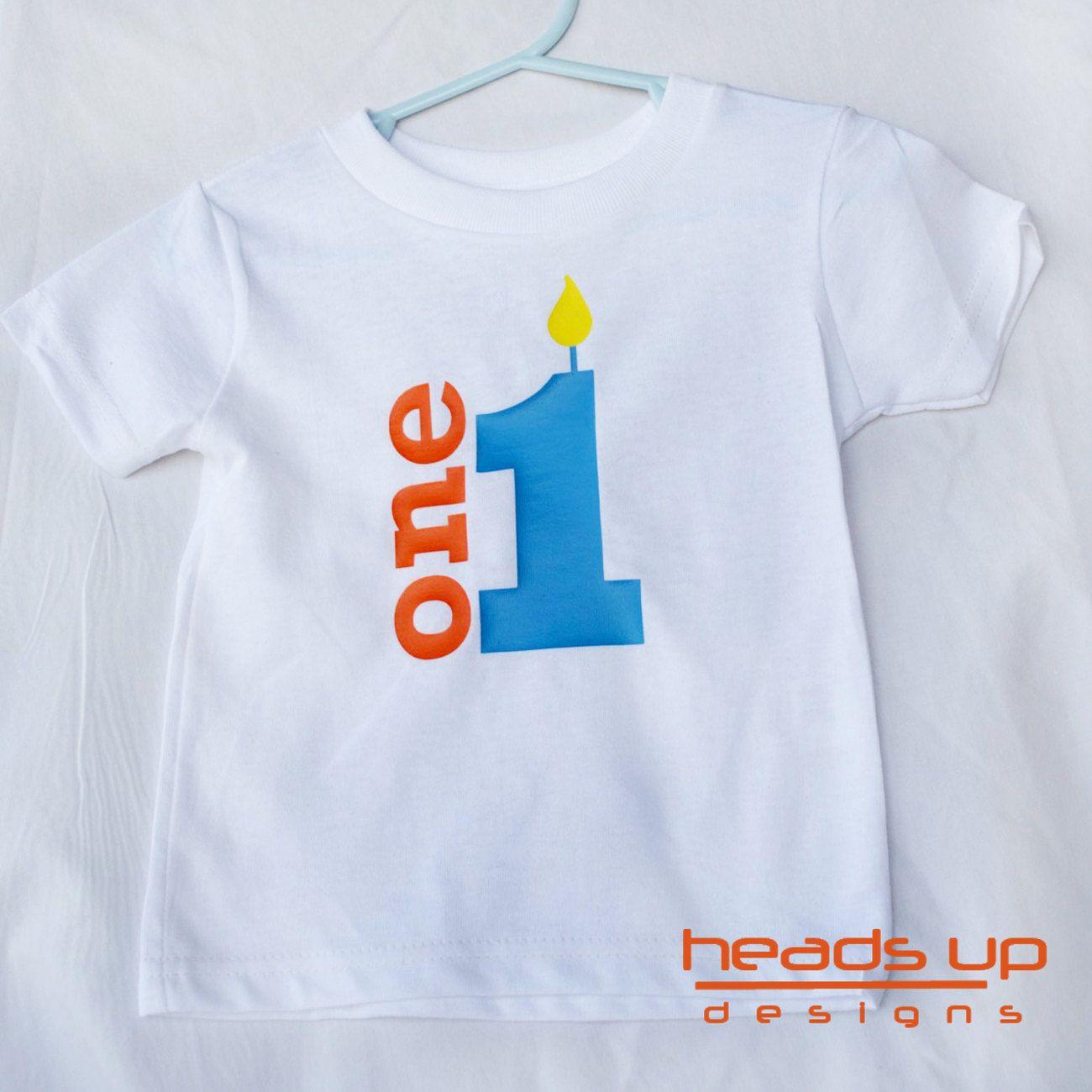 Birthday Shirt 1 Boy Turning One Shirt One by