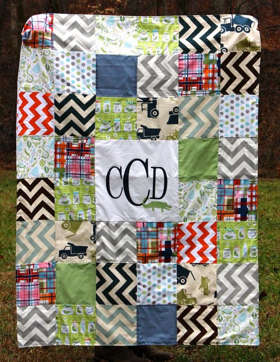 Personalized Baby Quilt / Custom Orders Welcome by kelsicreates, $125.00