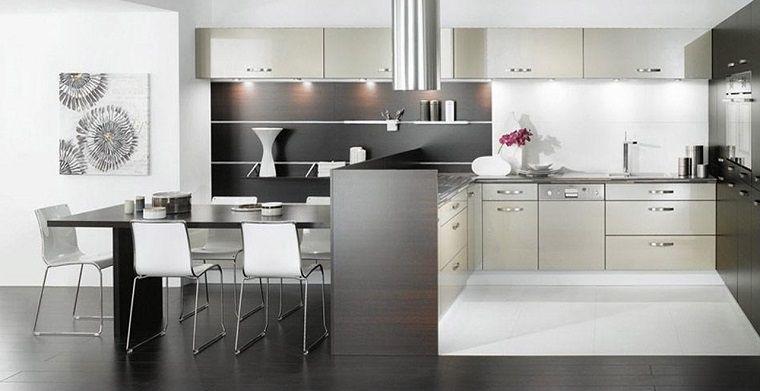 cucine-ad-angolo-moderne-open-space | Cucine | Pinterest