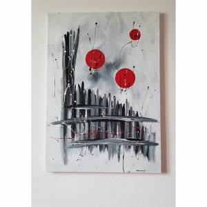 pin auf malerei painting abstrakte kunst baum acryl leinwand
