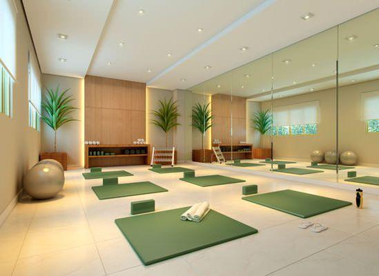 Sala De Yoga Buscar Con Google Espaço De Meditação Salas De Dança Decoração De Consultórios