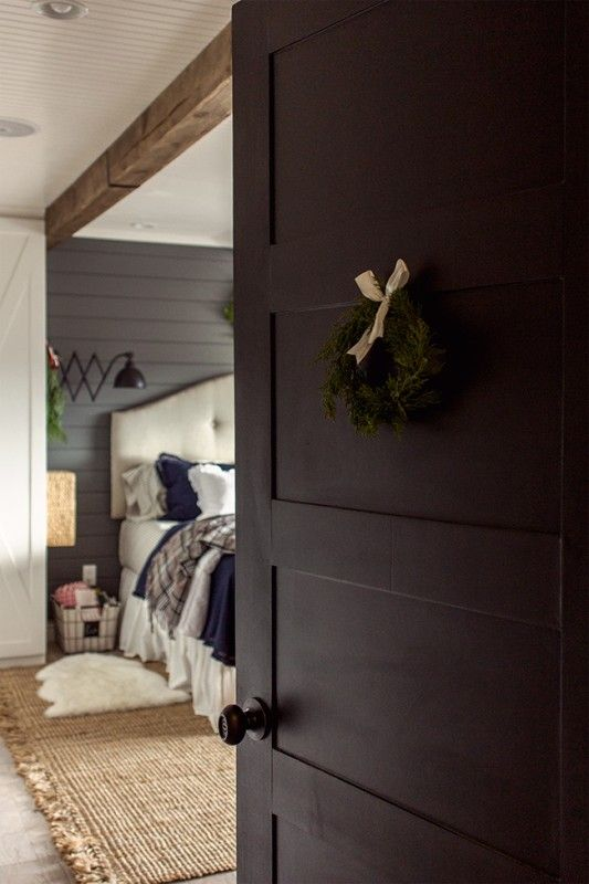 Lovely How To Create A 5 Panel Door From A Hollow Core Door By Jenna Sue Design Co  Featured On @Remodelaholic
