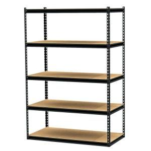 Incroyable Gorilla Rack, 5 Shelf 48 In. X 24 In. X 72 In. Freestanding Storage Unit,  GRZ6 4824 5PCB At The Home Depot   Mobile