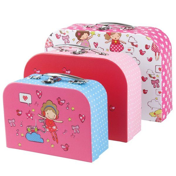 Candy Girls Nesting Suitcase Set Multi-functional, fun, colorful ...