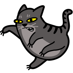 Cat Fight Icon Cat Icon Cats Animal Icon