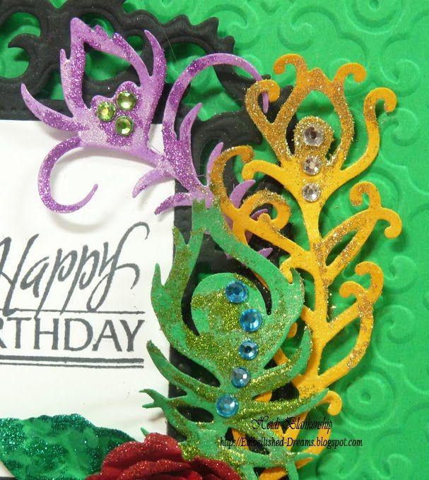 mardi gras happy birthday
