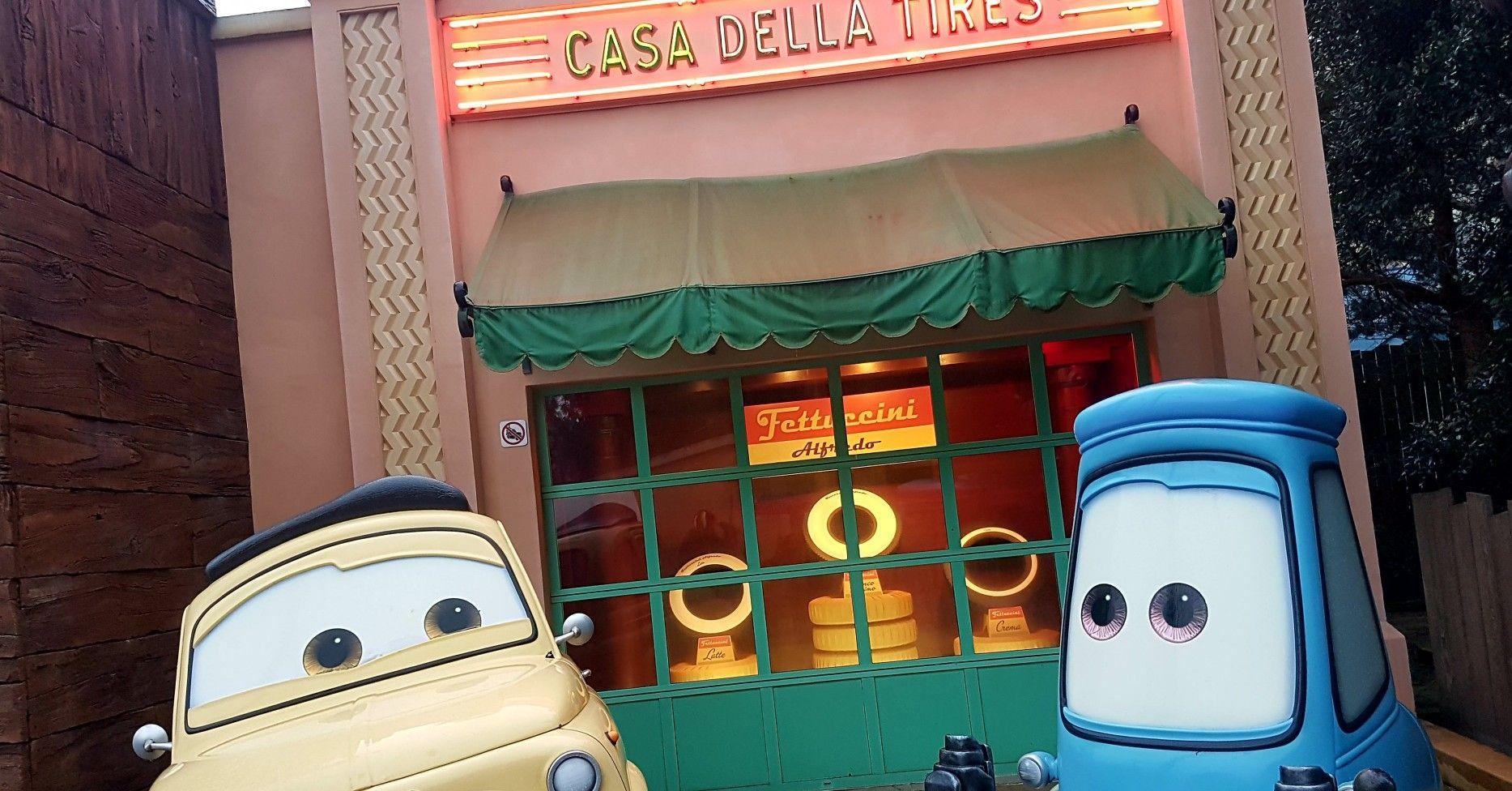 Cars Quatre Roues Rallye Toon Studio Walt Disney Studios