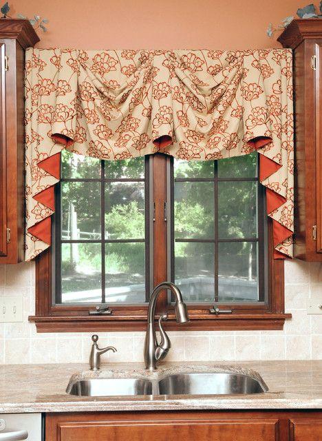 images about window treatments on   window,Kitchen Valances Modern,Kitchen ideas